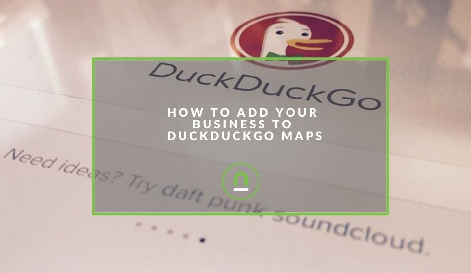 Add business listing to duckduckgo maps