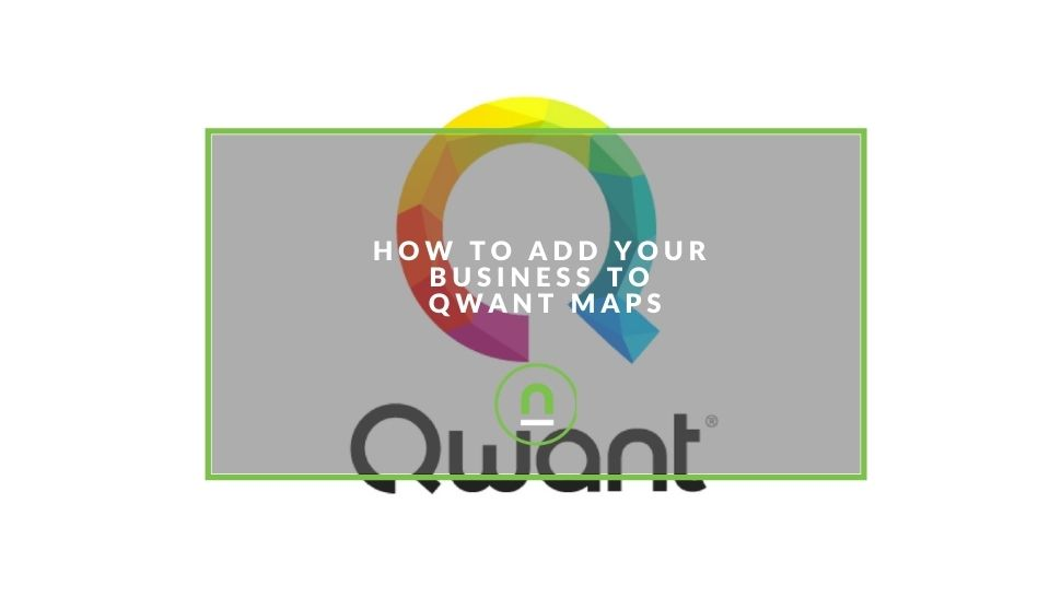 Adding business listing to Qwant maps