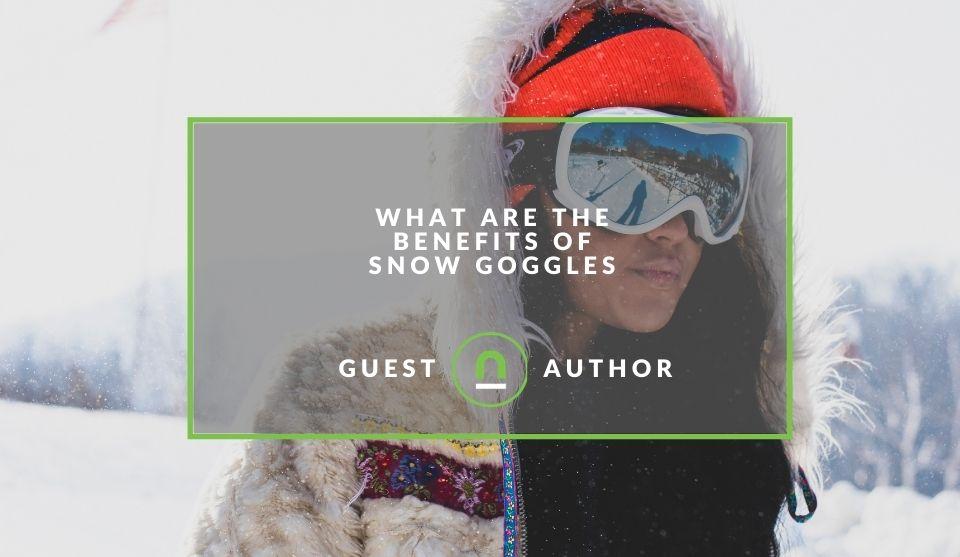 Snow goggle benefits