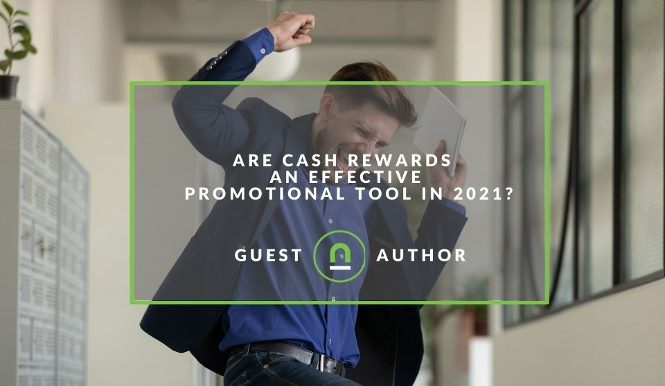 cash rewards as a promotional tool