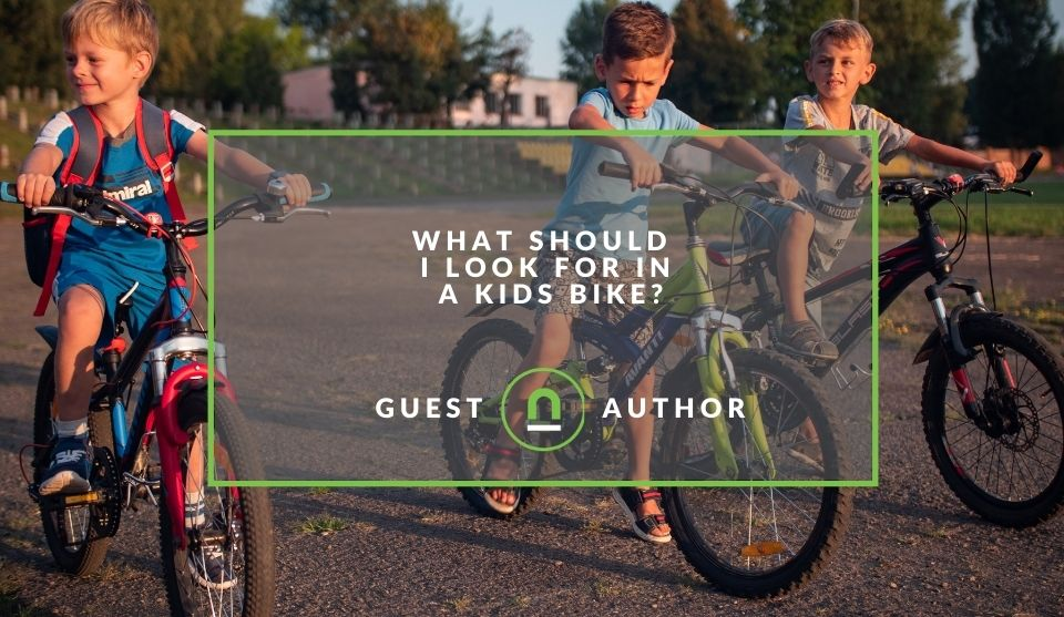 Decide on kids bicycle