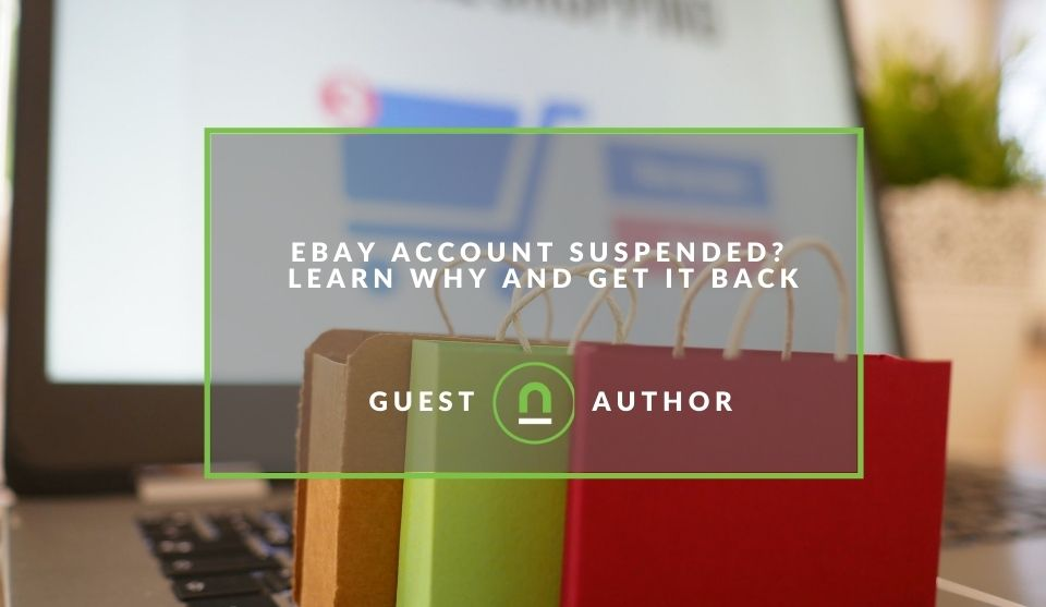 How to get back a suspended eBay account