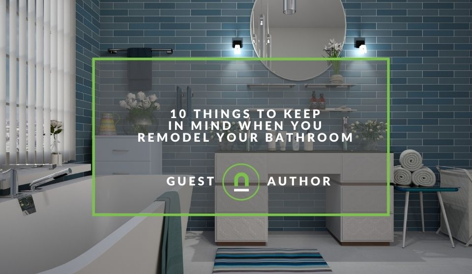 Considerations when remodelling a bathroom