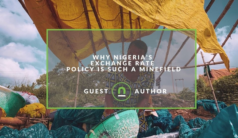 Issues with Nigerias exchange rate policies