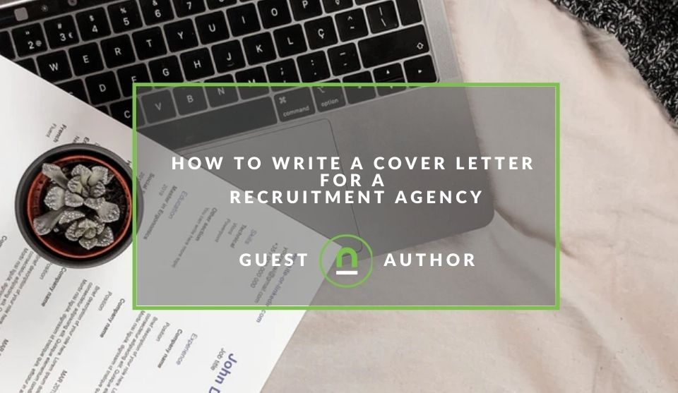 Cover letter examples for recruitment agency submissions