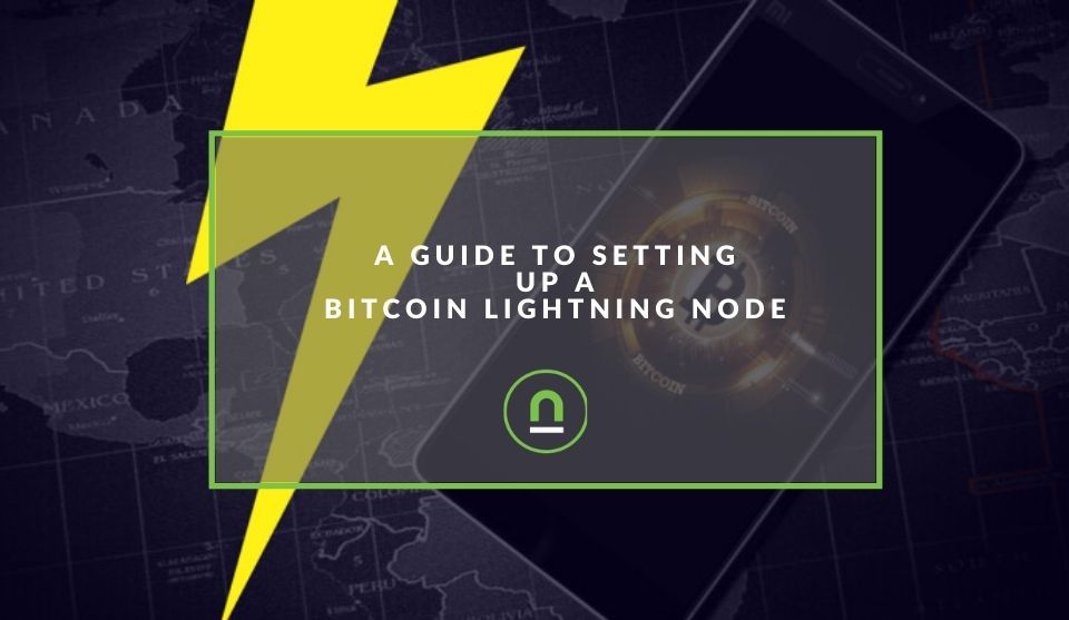 Bitcoin lightning node setup