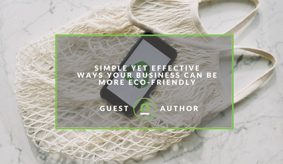 simple ways to be eco friendly business