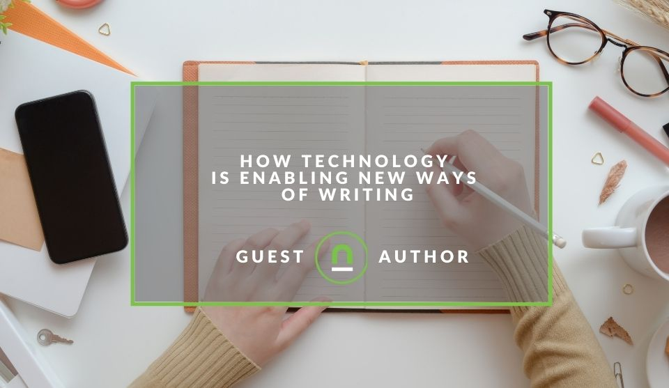 Technology changing the way we write
