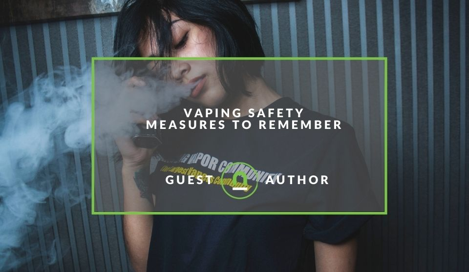 Safety tips for vaping
