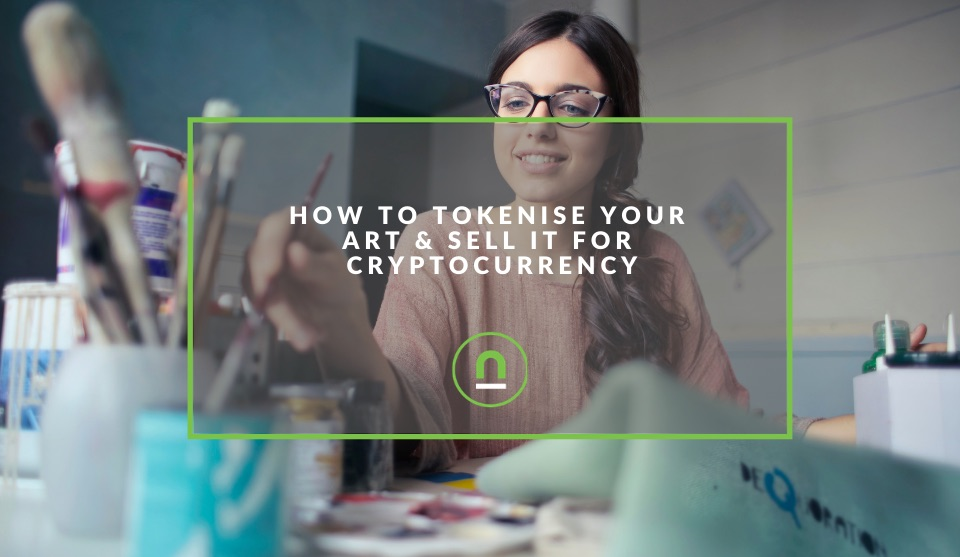 Sell your art for cryptocurrency