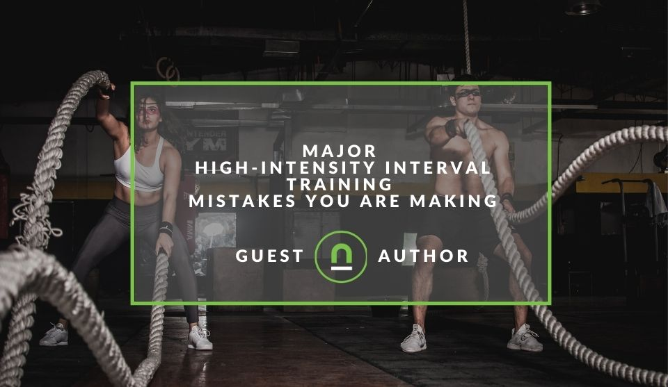 Mistakes you make with HIIT training