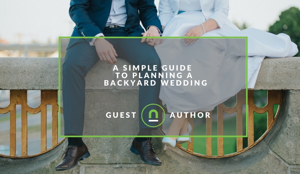 Backyard wedding planning guide