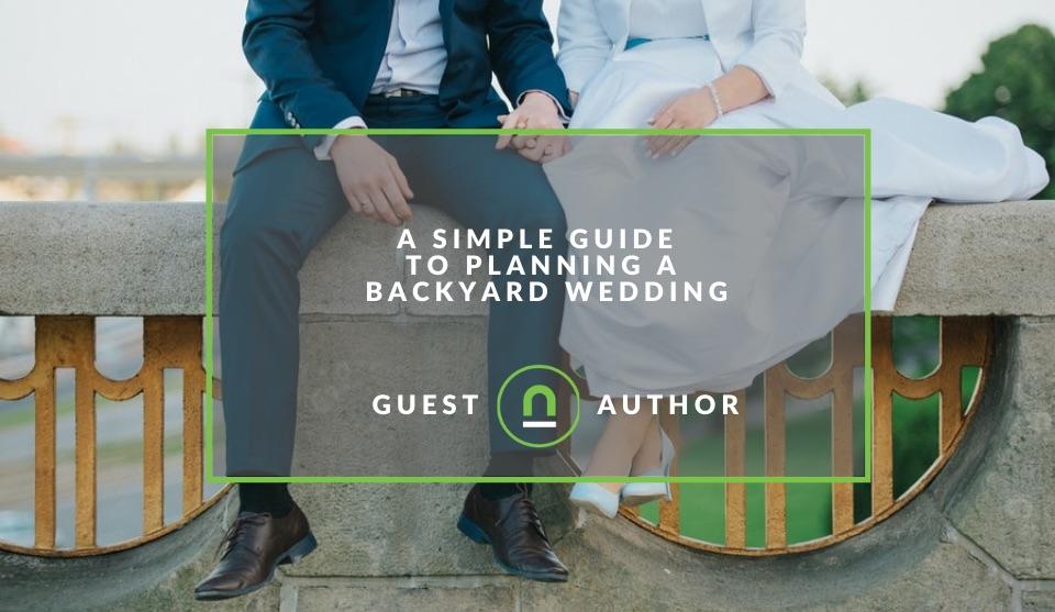 Backyard wedding planning guide