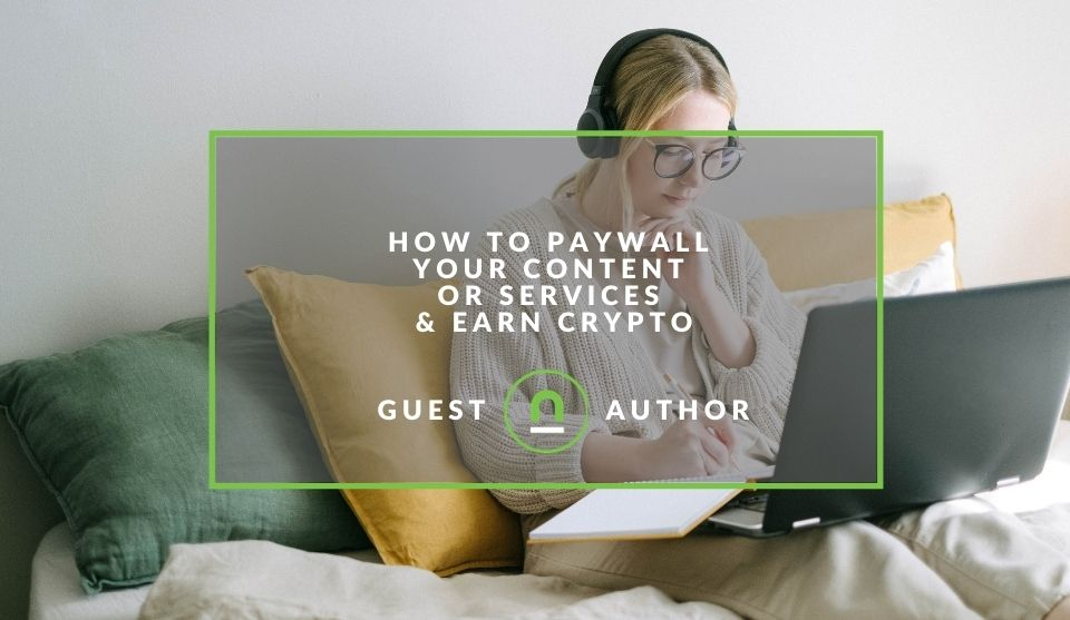 Creating a crypto paywall
