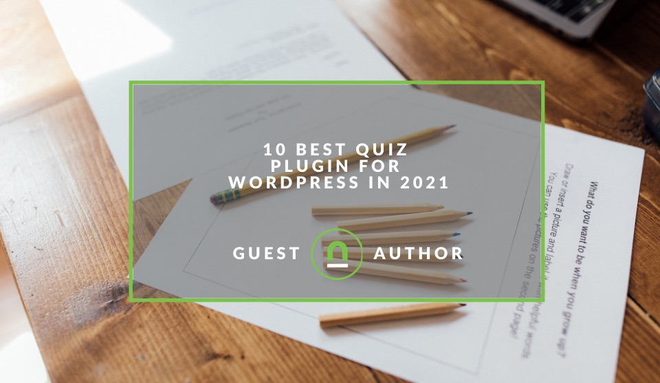 Wordpress plugins for quiz's