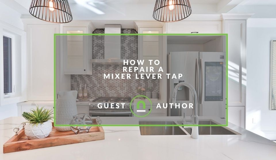 Tips for repairing mixer lever taps