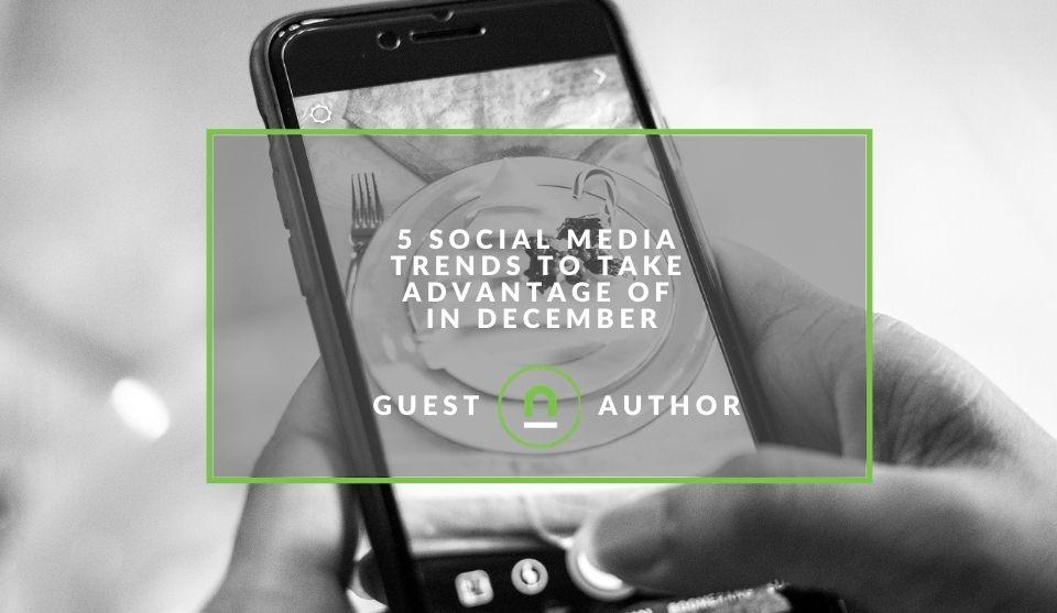 Social media marketing in december