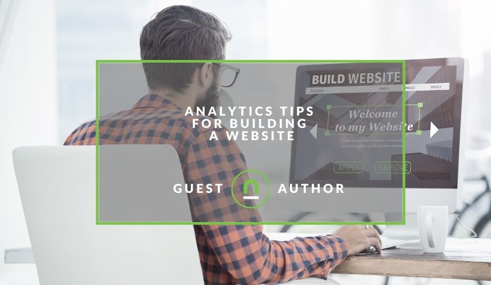 Analytics to focus on when building a website