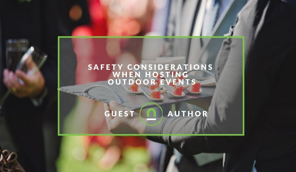 Outdoor event safety precautions