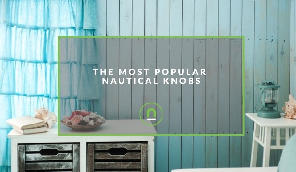Nautical decor knobs for redecorating
