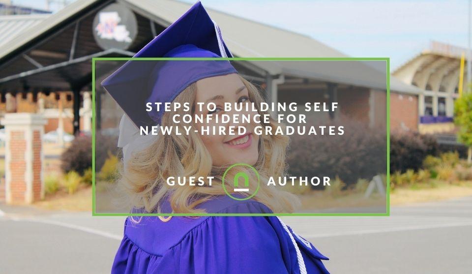 building a graduates self esteem