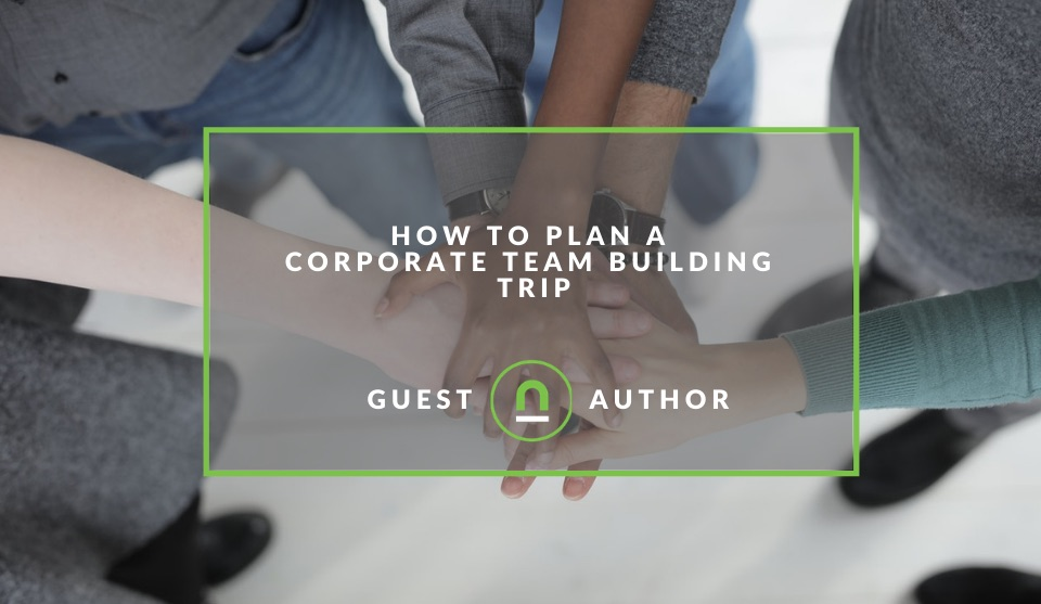 Plan a company team building getaway