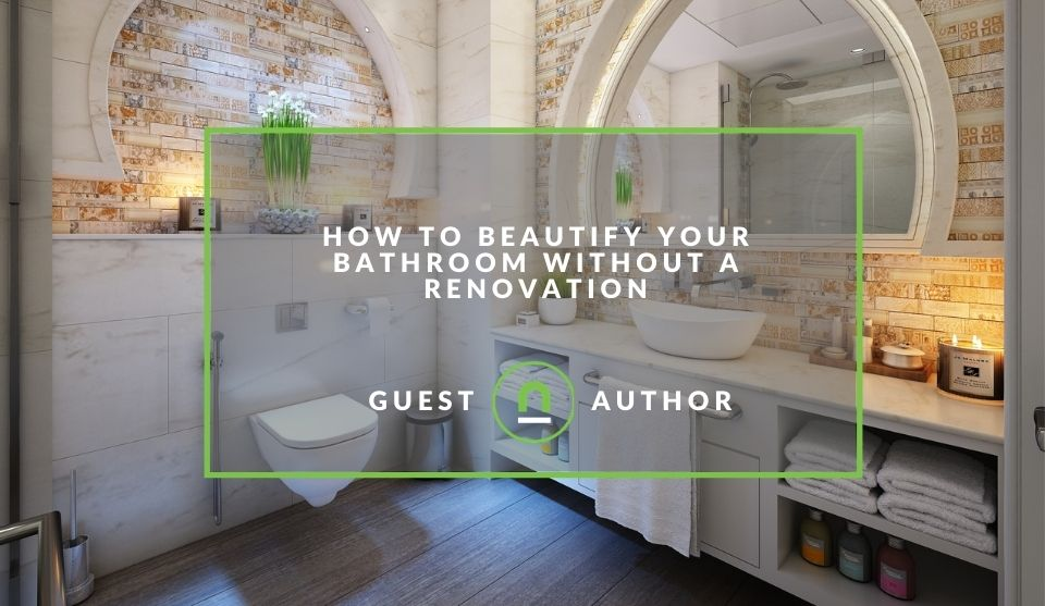 Upgrade bathroom without a full renovation