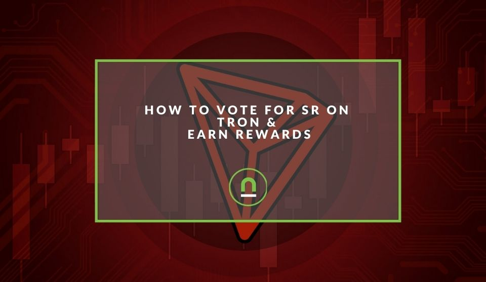 Freeze tron and vote to earn rewards