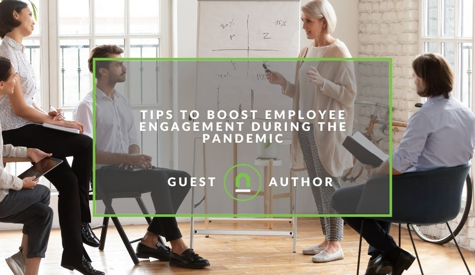 Improve employee engagement during lockdowns