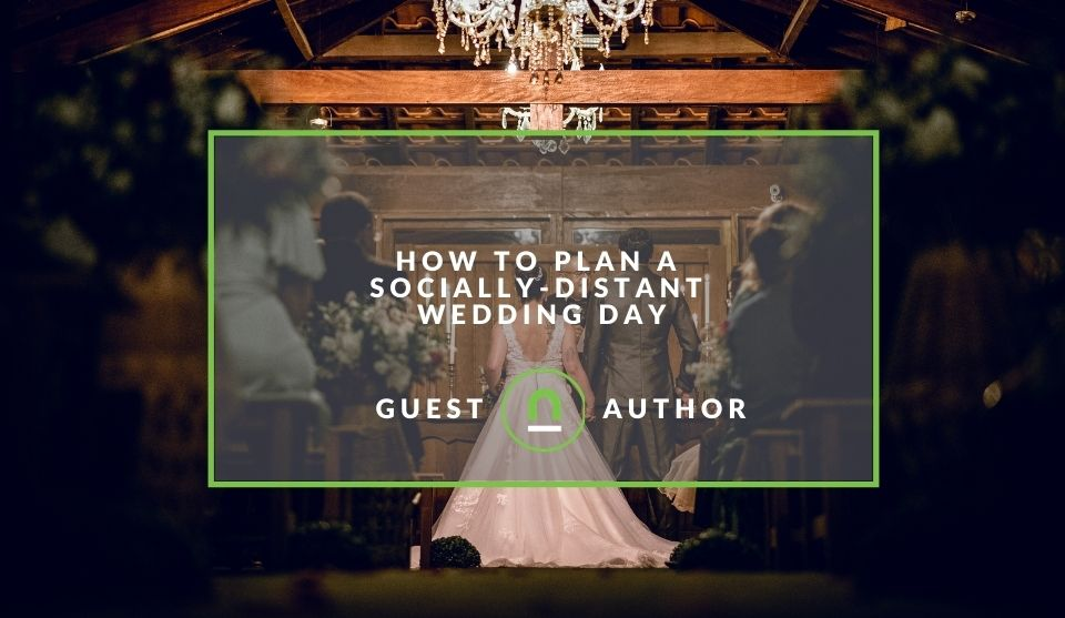 Guide to social distance covid wedding