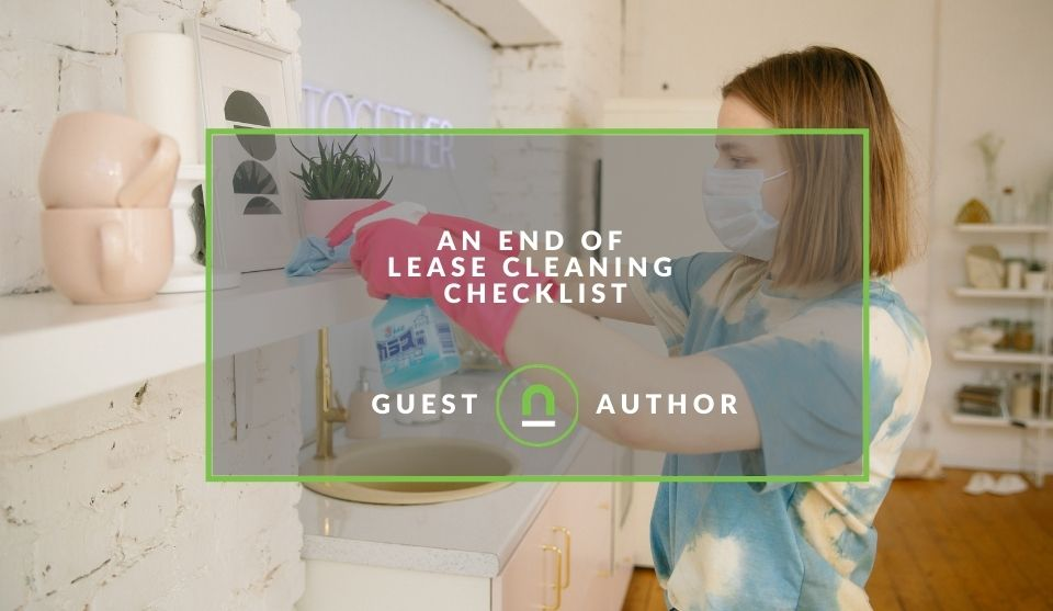 Cleaning your rental property