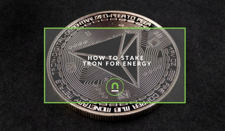 Tron staking for energy