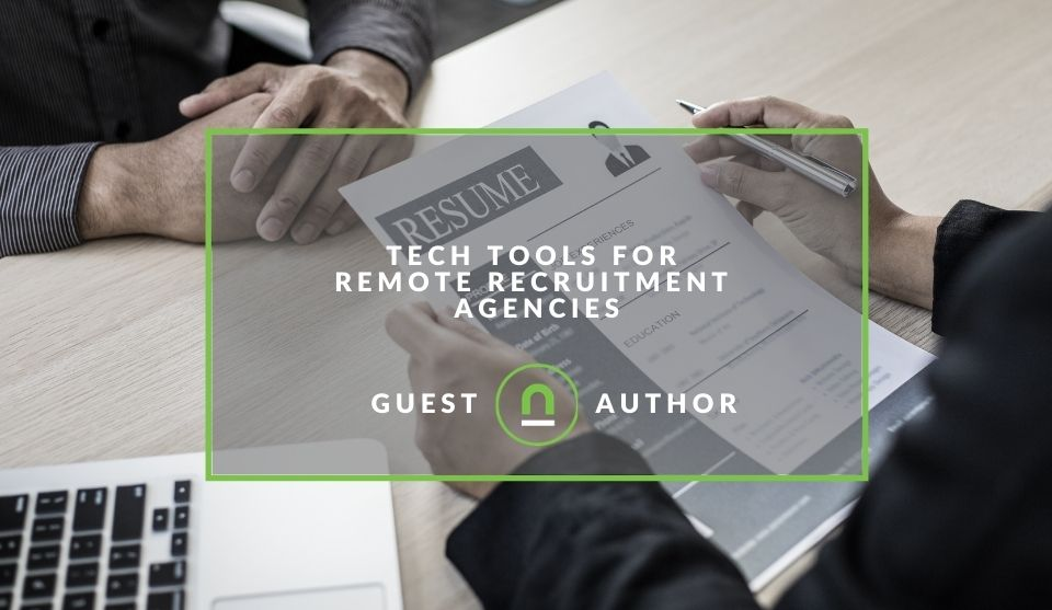 Tools for running a remote recruitment business