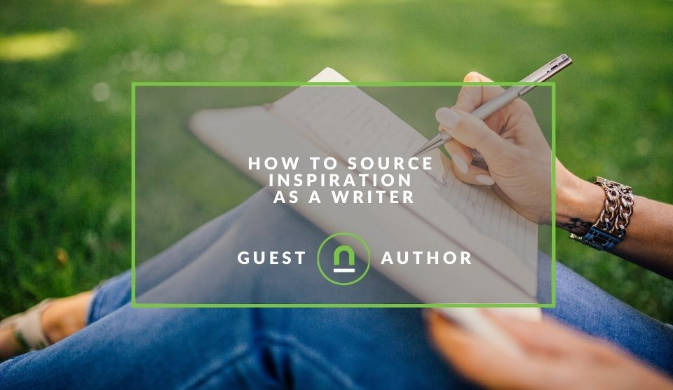 finding creative writing inspiration