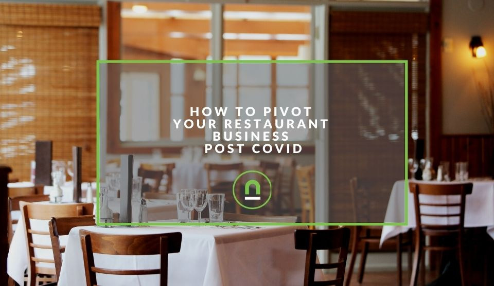 Pivot restaurant business after covid