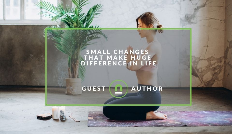 small changes to shape your lifestyle