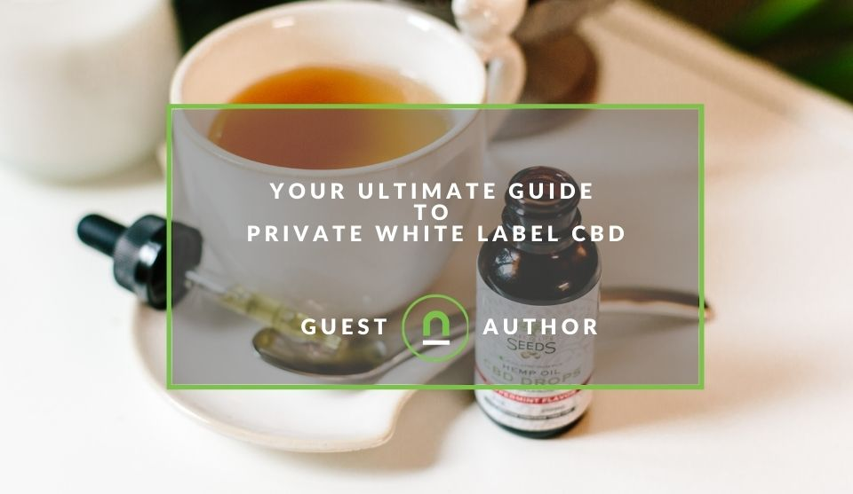 Private label CBD business