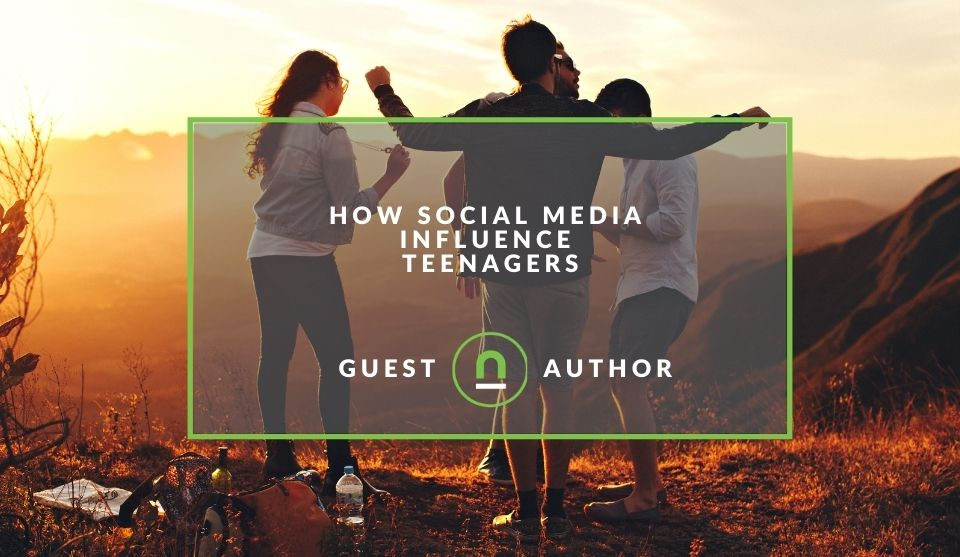 the influence of social media teenagers