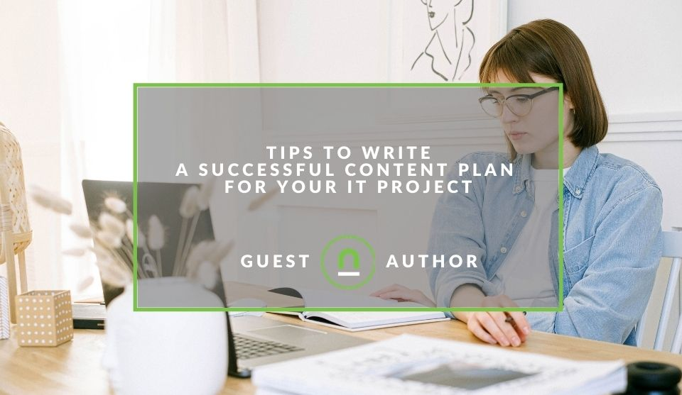 content planning for an IT project