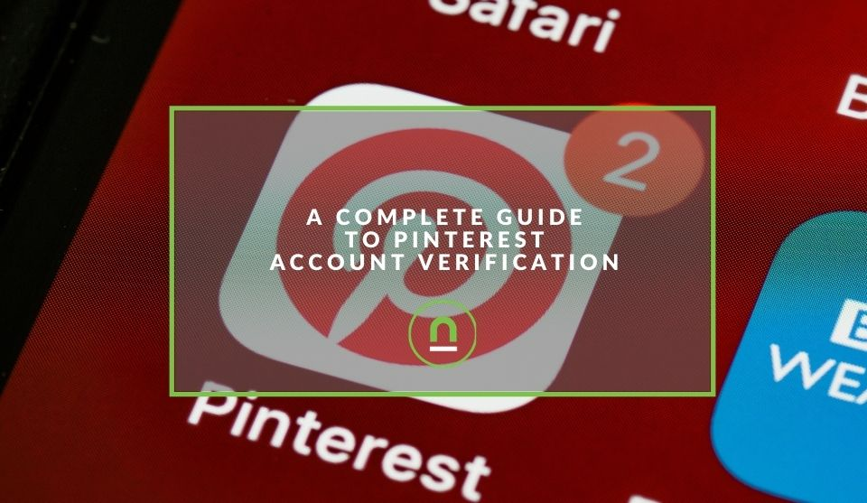 Getting your Pinterest account verified