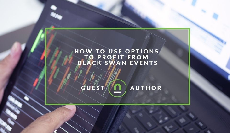 Using options on black swan evens