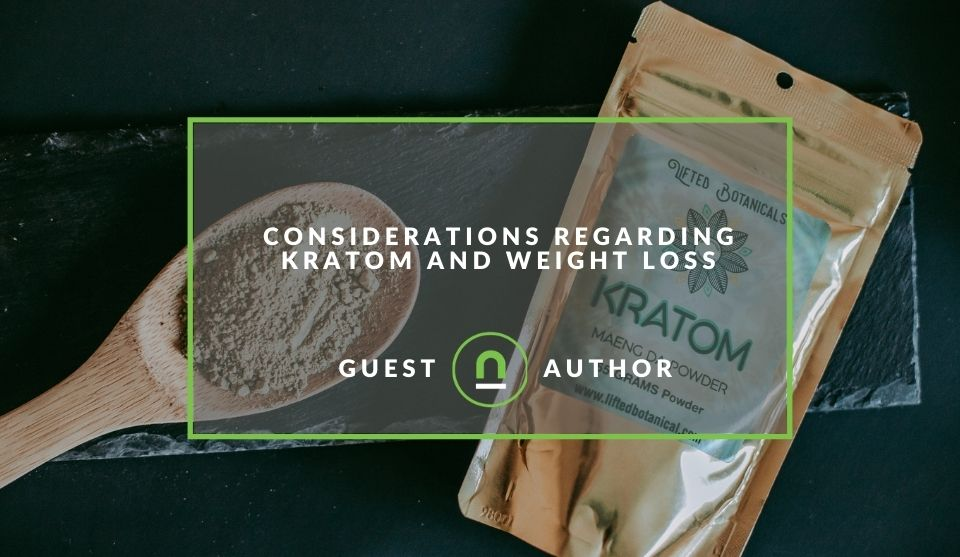 Why Kratom can aid weight loss