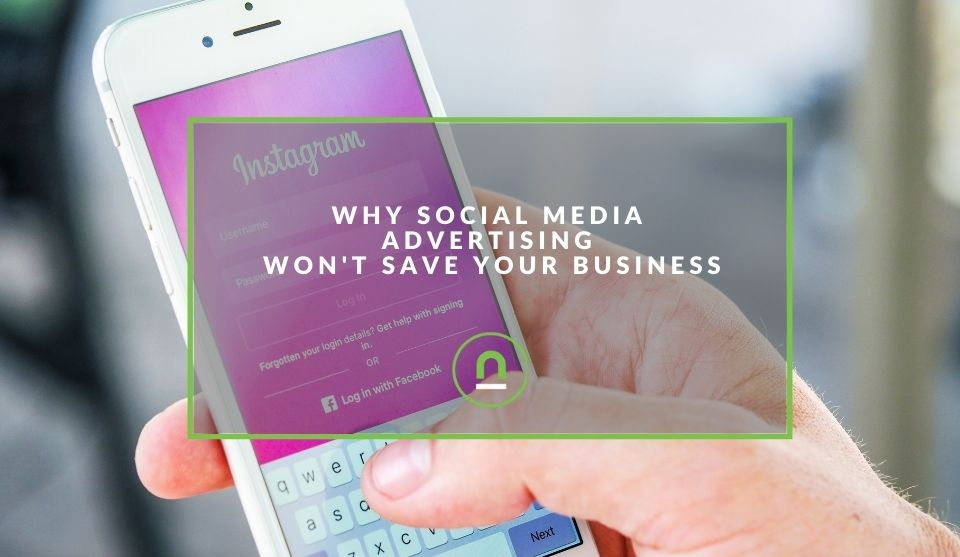 Social media won't save your business