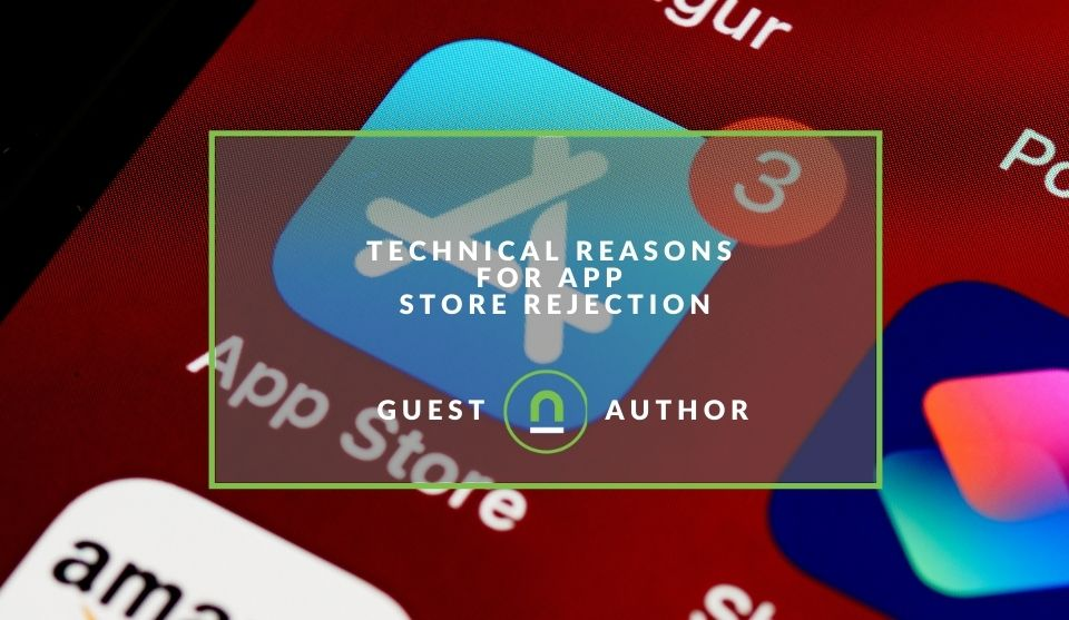 reasons for an app store rejection