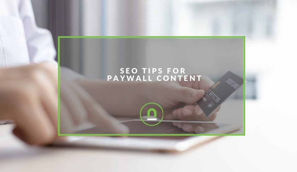 Paywall content SEO strategies