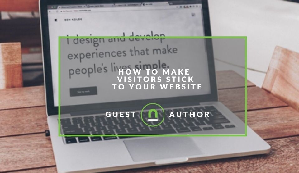 Make visitors stay on your website