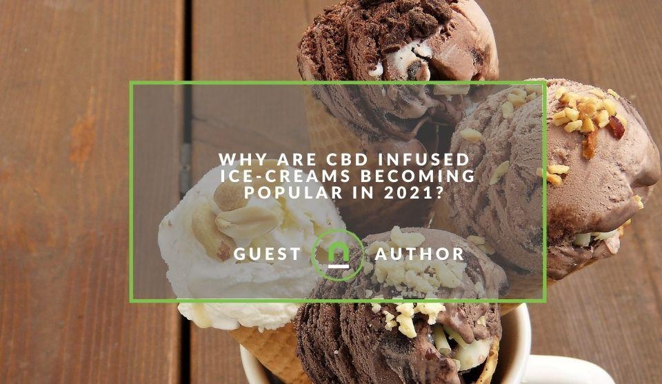 CBD ice cream gaining popularity in 2021