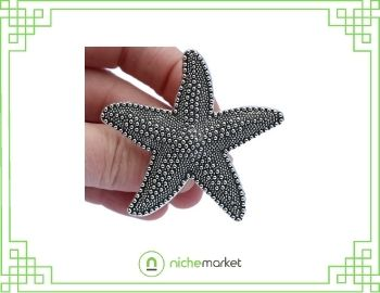 Beach house starfish drawer knob
