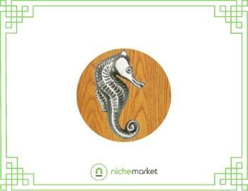 Sea horse cabinet knob