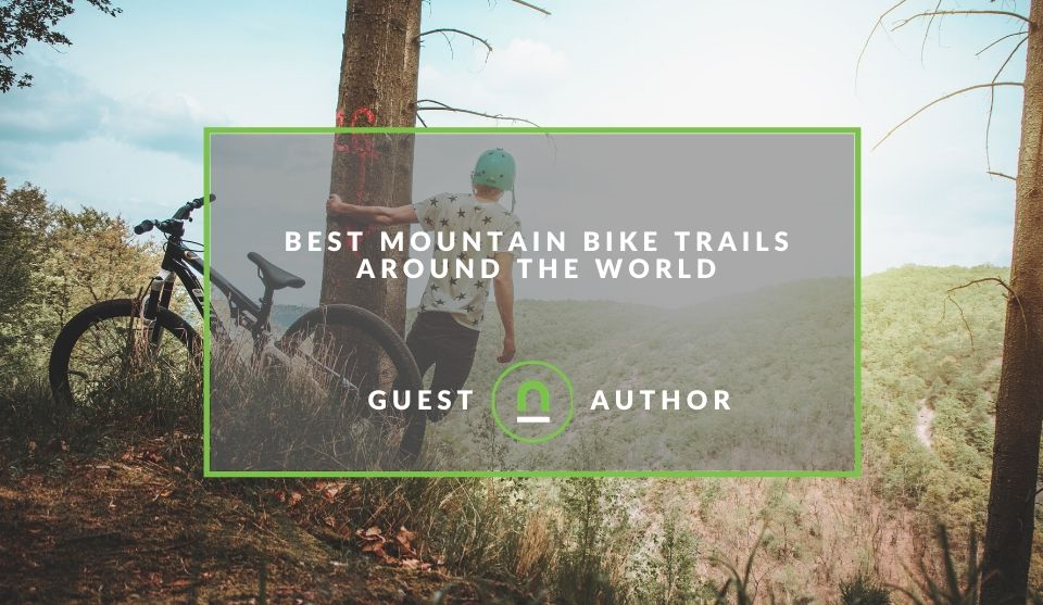 top Mountain biking trails in the world